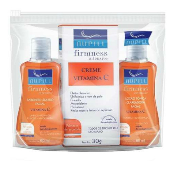 Nupill Kit Firmness Intensive Vitamina C C/3 60ml