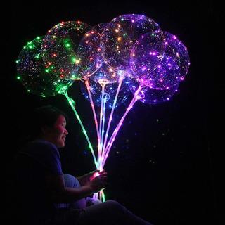 Mostrar Tine En 5pcs Destello Brillante Globos Luminosos Led