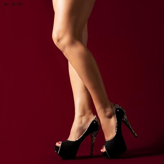 Sapato Meia Pata Da Torricella Salto Alto