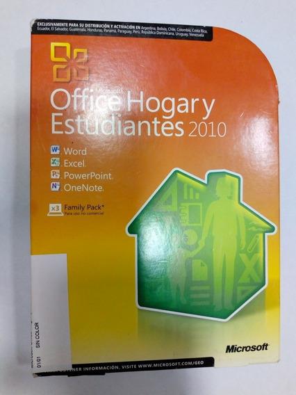 Microsoft Office Hogar Y Estudiantes 2010