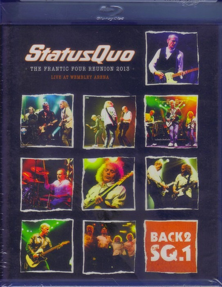Blu-ray + Cd Status Quo The Frantic Four Reunion 2013 Import