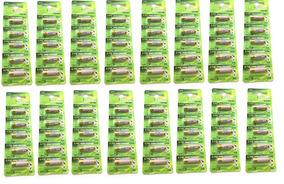 16 Cartelas Bateria Pilha 27a 12v Alarme Portão 80 Unidades