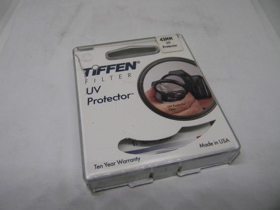 Filtro Tiffen Uv Protector - 43mm - Na Caixa Original - Impt