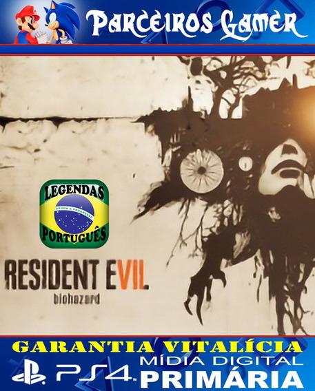 Resident Evil 7 Biohazard - Português - Ps4 1 Mídia Digital