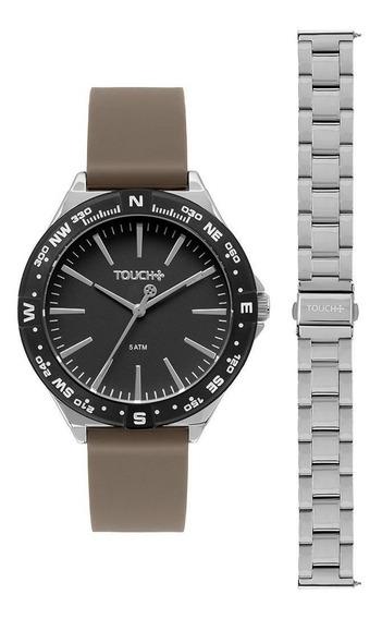 Relógio Touch Masculino Rumo Bicolor Tw2035ldr/t5p