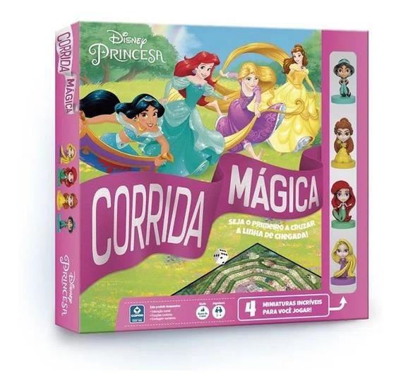 Jogo Corrida Mágica Tabuleiro Princesas Disney Board Game
