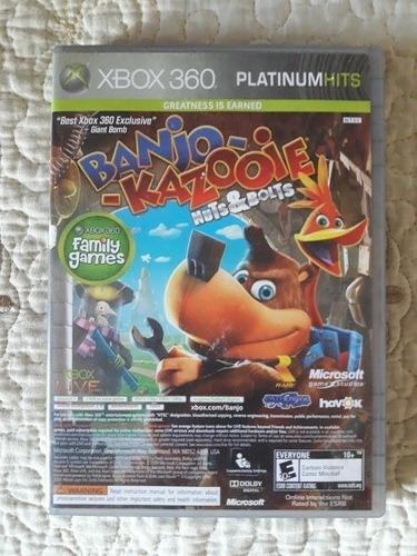 Juego Xbox 360 Banjo-kazooie Nuevo