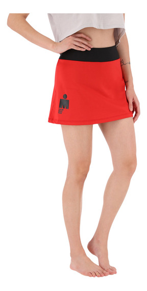 Falda Ironman Correr Anything Is Possible Mujer Rojo