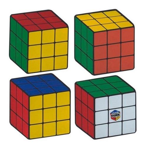 Portavasos Diseño Rubiks Cube
