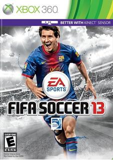 Fifa 13 Xbox 360 Nuevo Y Sellado