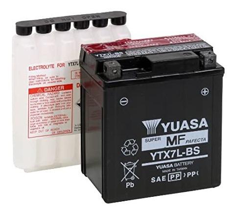 Batería De Moto Yuasa Ytx7l-bs, Delivery.
