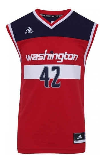 Regata adidas Nba Washington Wizards + Nota Fiscal Ctsports