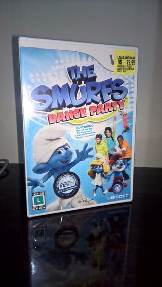 The Smurfs Dance Party Nintendo Wii - Wii U Lacrado! Frete12