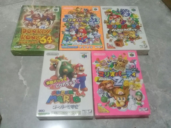 Jogos Nintendo 64 Na Caixa 140 Cada