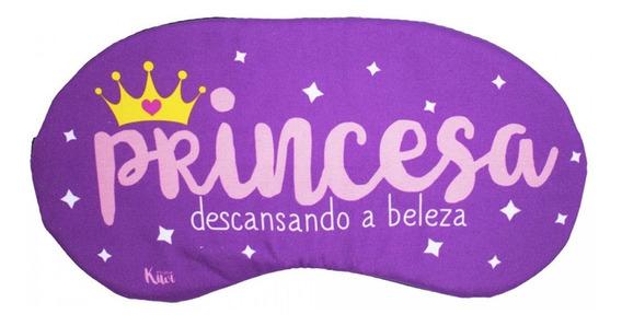 Máscara De Dormir Tapa Olho Princesa Descansando A Beleza
