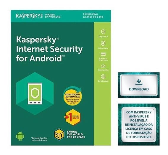 Kaspersky Internet Security Para Android - 1 Disp. Original