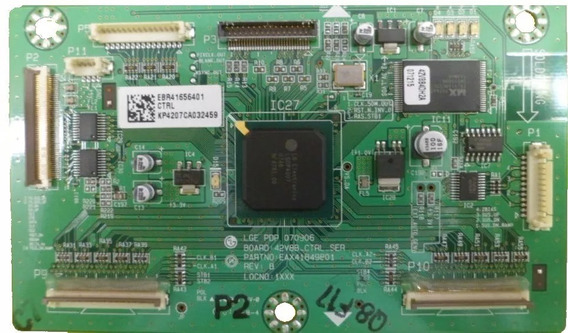 Placa Logic Main Lg 42pc5rv, Eax41849801, Ebr41656401