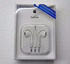 Fone De Ouvido Apple Para Iphone 6 Original Earpods Com Mic