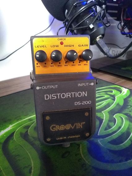 Pedal Groovin Distortion Ds 200 / Pedal Distorção