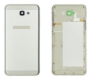 Carcaça Sem Chassi Para Celular J5 Prime G570 - Cor Prata