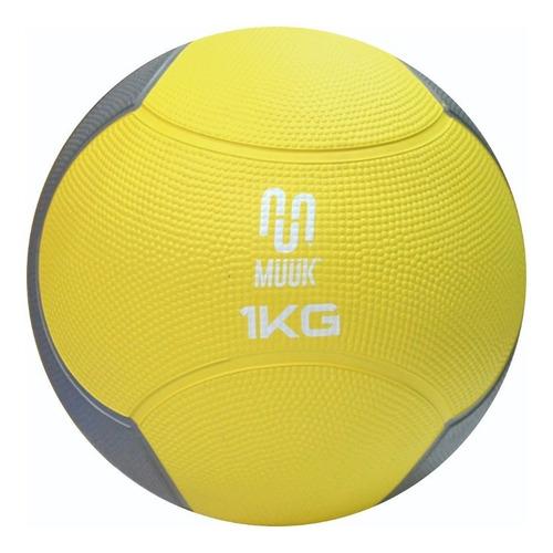 Balón Medicinal Muuk Rebote Soft 1 Kg