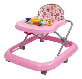 Andador Bebê Infantil Menina Toy Rosa - Tutti Baby