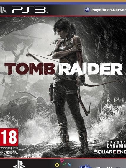 Ps3 Tomb Raider Digital Edition   Mídia Digital