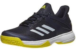 Tenis adidas Adizero Club K Aqua/silver Junior Shoes
