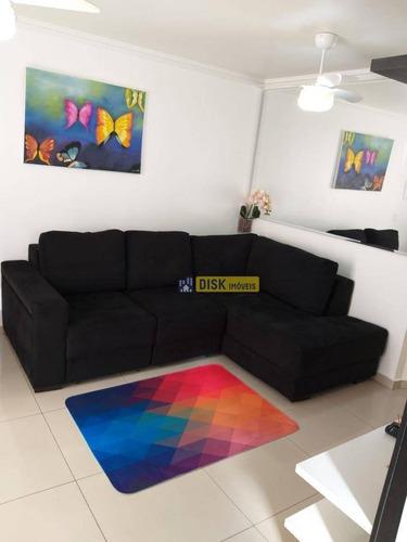 Imagem 1 de 14 de Apartamento Com 2 Dormitórios À Venda, 46 M² Por R$ 295.000,00 - Nova Petrópolis - São Bernardo Do Campo/sp - Ap1791