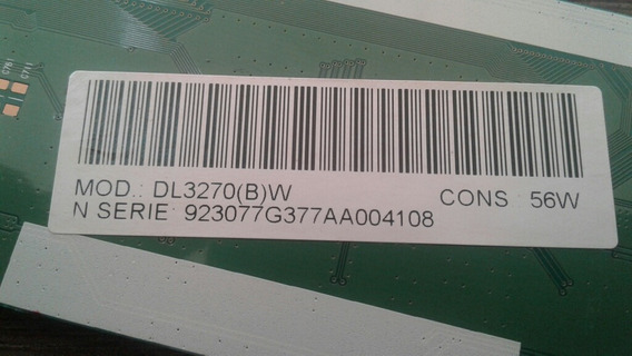 Placa T-con Tv Semp Dl3270b
