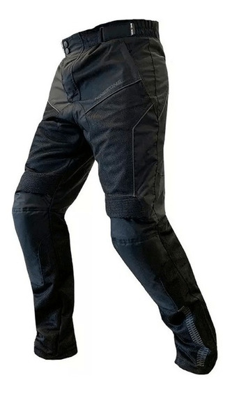 Pantalón Ninetoone Cordura City Negro/ Lavalle Motos