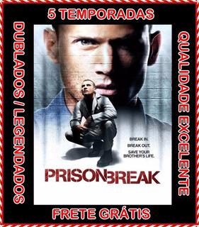Prison Break + Resgate Final[1ª À 5ª Temporada] Frete Grátis
