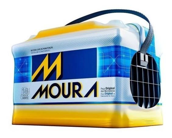 Bateria Moura 60 Amperes - Polo Hatch - Gol- Fusca