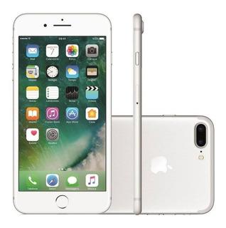 iPhone 7 Plus 128gb Prateado Seminovo Muito Bom