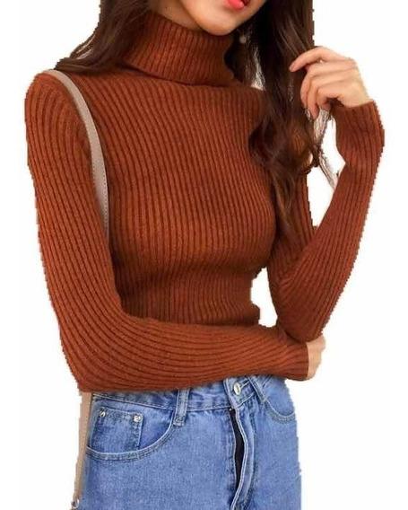 Polera Morley Elastizado Top Polera Mujer Moda