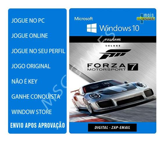 Forza 7 Forza Motorsport 7 Pc Deluxe - Windows 10 Online