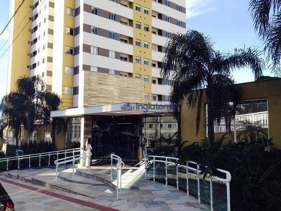Apartamento Com 3 Dormitórios À Venda, 68 M² Por R$ 298.000,00 - Gleba Palhano - Londrina/pr - Ap0721