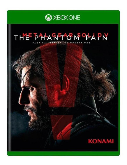 Metal Gear Solid V The Phantom Pain Xbox One Mídia Física