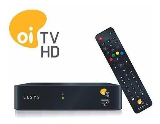 Receptor Elsys Oi Tv Livre Hd Etrs37 67 Canais 5 Hd Com Grav