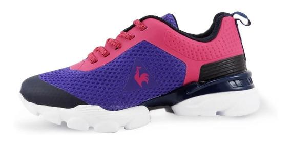 Zapatillas Niños Le Coq Sportif Foild Purple/pink New