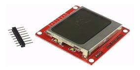 Display Lcd Gráfico Nokia 5110 Back Branco 84x84 Arduino