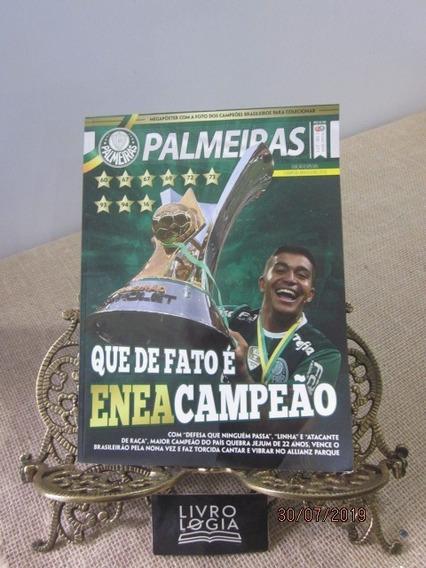 Revista Palmeiras Eneacampeão Brasileiro + 4 Posters