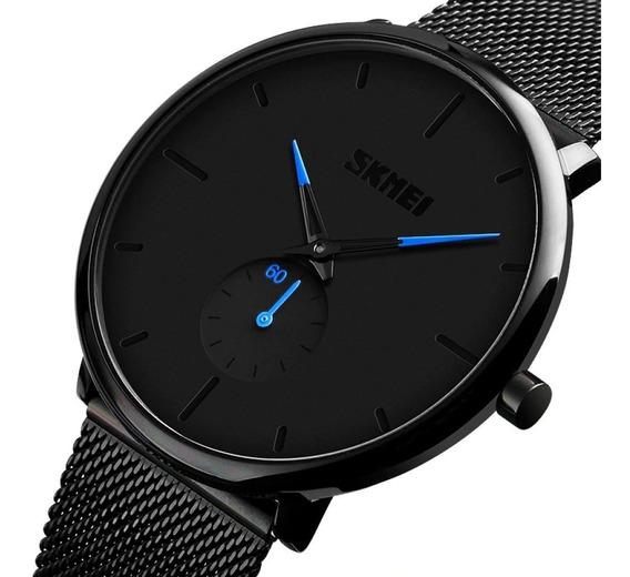 Relógio Masculino - Ultrafino - A Prova D