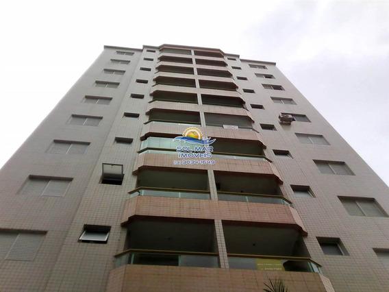 Apartamento 3 Dormitórios, 1 Suite, 2 Sacadas, Lazer Completo E A 2 Quadras Da Praia Na Vila Tupi Em Praia Grande/sp - Sp604