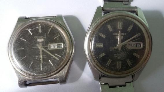 Relógio Seiko 5 Automatic 6119-8410parados(70x)