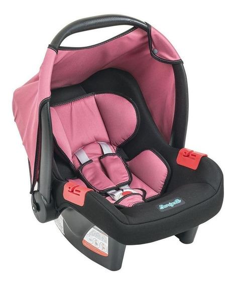 Bebê conforto Burigotto Touring Evolution SE Preto/Rosa