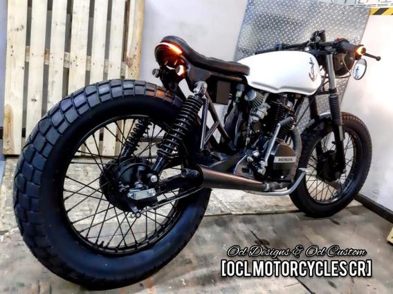 ¡¡¡motos Cafe Racer Honda Y Yamaha 125cc!!! Ocl Motorcycles