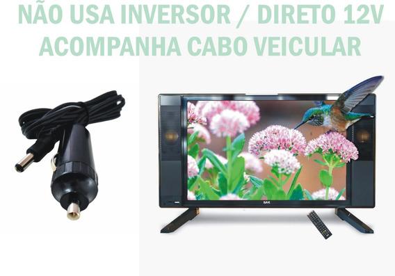 Tv Digital 19 Polegadas Conversor Hdmi Usb Monitor Vga Hdmi
