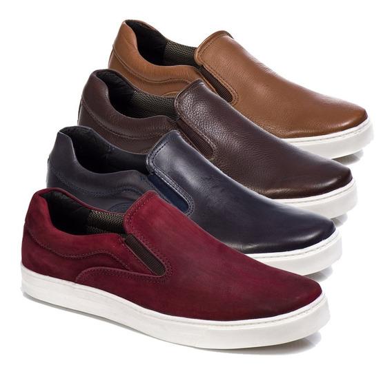 Sapato Masculino Couro Legítimo Para Homens Exigentes