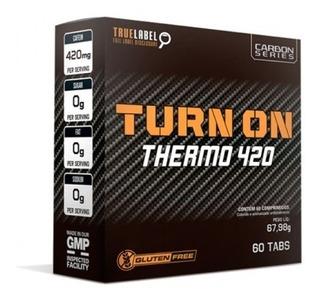 Termogenico Turnon 420 - 60tabs - Nos